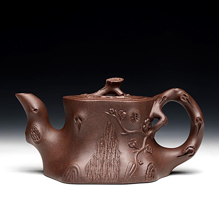 茶壶俯视结构图