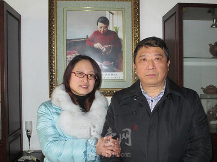 鲍利安大师和爱徒徐俊英合影