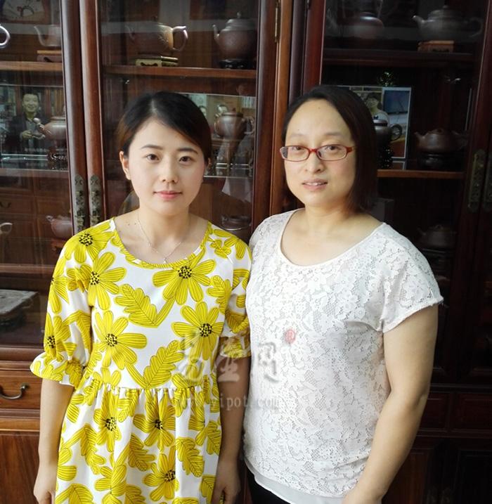 易壶网(www.yipot.com)和徐俊英老师合影